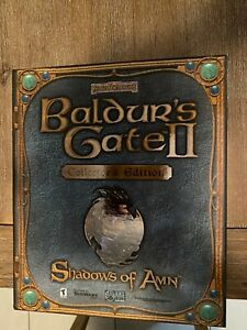 BALDUR'S GATE II - SHADOWS OF AMN COLLECTOR'S EDITION (PC)  - No  #5331 of #7000