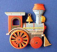Hallmark MAGNET Christmas Vintage LOCOMOTIVE of Train Ornament Holiday Fridge