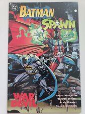 BATMAN SPAWN: WAR DEVIL GRAPHIC NOVEL 1994 DC COMICS DOUG MOENCH! CHUCK DIXON!