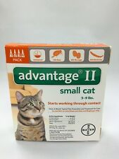 Bayer Advantage II For Cats 10lbs & Under 4 Pack EPA APPROVED