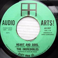 The Incredibles northern soul 45 Heart And Soul b/w I Found Another Love F2648