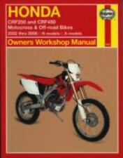 2002-2006 Honda CRF250 CRF450 Haynes Repair Service Manual 2003 2004 2005 630X