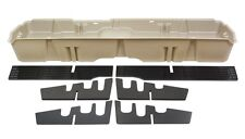 Du-Ha Underseat Storage Gun Case Box 07-13 GMC Sierra Crew Cab Tan 10044