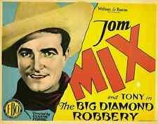 THE BIG DIAMOND ROBBERY Movie POSTER 27x40 Frank Beal Barney Furey Ernest