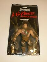 Freddy Kreuger Action Figure Savage World Horror Movie Nightmare on Elm Street