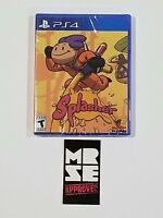 Splasher Limited Run Games #152 for PS4 ( Sony, PlayStation 4) New Sealed