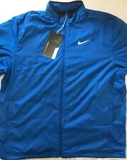 Nike Golf Mens Full Zip Shield Jacket - XXL Colour Blue