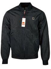 Hugo Boss Men's BOSS ORANGE Extra-slim-fit European Size Bomber Jacket - Black