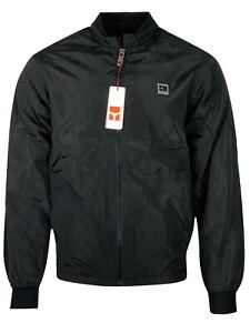 Hugo Boss Men's BOSS ORANGE Extreme Slim Fit Bomber Jacket European Size - Black