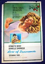 Loss Of Innocence Original 1961 Movie Poster More Darrieux  ***FREE SHIPPING***