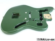 2018 Fender American Professional Jaguar BODY USA Guitar Parts Antique Olive