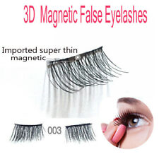 1Pair 4pcs 3D Magnetic Handmade False Eyelashes Thinner Magnet Natural Extension
