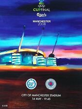 2008 Uefa Cup Final Zenit St Petersburg v Rangers 14th May. MINT CONDITION.