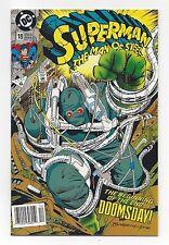 SUPERMAN: THE MAN OF STEEL #18  NEWSTAND VARIANT HTF!!!