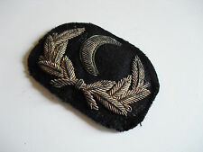 RARE Antique SILVER Bullion WW2 US Navy Consulate/Camander Hat patch w/FREE ShpN