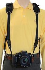 Sistema de arnés de Trekking Safari Clásico Correa de la Cámara binocular
