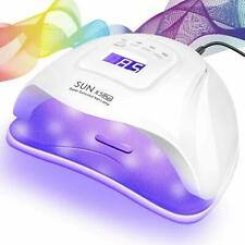 36-80W Nail Dryer Led Lamp Uv Light Polish Gel Curing Machine Electric Manicure