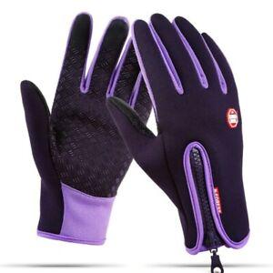 Men Women Waterproof Winter Warm Gloves Touch Screen Mitten Sports Windproof