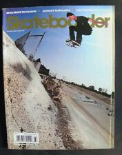Skateboarder Magazine 2009 March Vol.18 #7 Vans Independent Santa Cruz