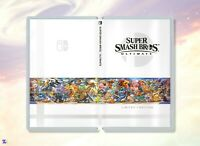 Super Smash Bros Ultimate Limited Edition: Custom Game Case for Nintendo Switch