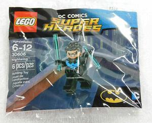 LEGO Nightwing 30606 DC Comics Minifigure NEW SEALED Batman polybag