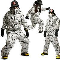 SOUTHPLAY COLLECTION Wasserdichte Ski Snowboard Jumper Anzüge Jacke + Hose K03