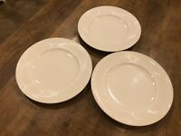 """Set of 3 - Mikasa Salad Plates 8.75"""" Italian Countryside Excellent DD900"""