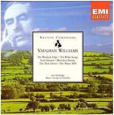 VAUGHAN WILLIAMS On Wenlock Edge, Ten Blake Songs, 4 Hymns, Merciless Beauty… CD
