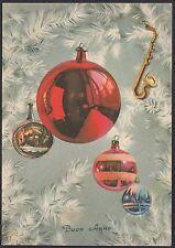 AA4821 Buon Anno - Edizioni SAEMEC S 452 - Cartolina postale - Postcard