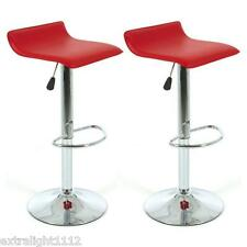 2x Sense PU leather Bar stool Kitchen Chair- Red Color postage free