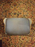 000 Vintage Belvedere Lounge Salon Chair Back Section Part Bent Wood Mid Century