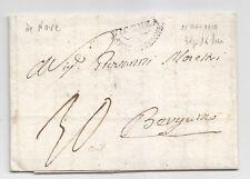 X27-PERIODO NAPOLEONICO-PREF.VICENZA/BERGAMO 1810