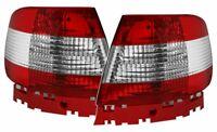 Feux arrières pour AUDI A4 B5 94-00 Rouge Blanc IT LTAU10EP XINO IT