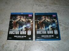 DOCTOR WHO SERIES SEVEN PART ONE BLU-Ray 1 Dr Amy Rory Tardis K9 Time TV NEW