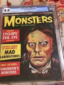 Famous Monsters of Filmland Issue # 7 CGC 6.0 ! free shipping! no reserve!