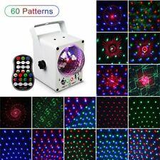128 Muster Lichteffekt Bühnenbeleuchtung RGB LED Laser DJ Projektor Disco Party