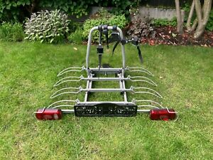 Nimbus Saffier IV Towbar Mounted Tilting Bike Carrier, For up to 4 bikes