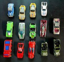 Original Redlines Loose Hot Wheels Cars Lot Of 14 Porsche P-911 Swinging Wing +