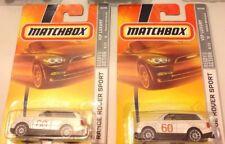 Matchbox, White Range Rover Sport, NIB, 2007 lot of 2
