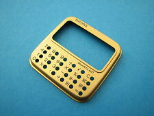 NEW/NOS RARE Vintage OEM Seiko LCD Digital calculator watch face plate (gold)