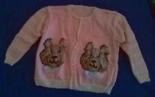 Maglia invernale bimba rosa con orsetti 2/3 anni - Usata