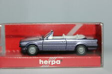 BMW 3er E30  Cabrio hellviolettmetallic  Herpa  1:87
