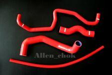 Red Silicone Radiator Hoses Kit For Nissan 350 Z 350Z 03-06 Infiniti G35