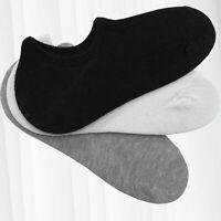 Chaussettes de 6 pièces pour hommes femme invisibles unisexe Socks 40-46
