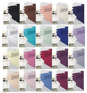 Luxury Fitted sheets in size Single,Double,King S. king 4 feet & free delivery