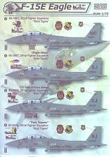 Print Scale Decals 1/72 MCDONNEL DOUGLAS F-15E EAGLE 9-11 NEVER FORGET