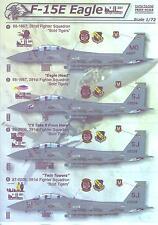 Print Scale Decals 1/72 MCDONNEL DOUGLAS F-15E EAGLE 9-11 NEVER FORGET