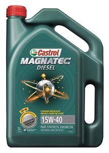 Castrol MAGNATEC 15W-40 Diesel Engine Oil 5L 3383364