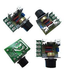 AC 36v 110v 220v 25A Fan Speed Control SCR Dimmer  Regulator Motor 2000W 1000W
