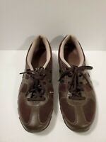 Skechers Women's Size 10 Brown Leather 21062 Lace Up Sneaker Shoes